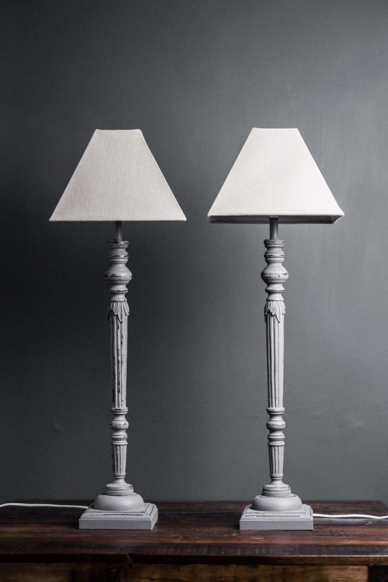Tall Wooden Table Lamps With Shades